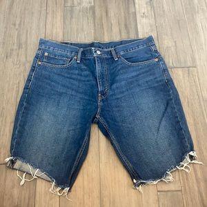 Levi's Mens Levis 511 Cutoff Denim Shorts Size 36